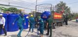 Hàng ngàn hộ dân Tân Trụ thiếu nước sinh hoạt