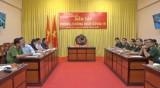 Bộ Chỉ huy Quân sự tỉnh Long An tham gia diễn tập phòng chống dịch Covid-19