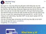 Dàn sao ĐT Việt Nam kêu gọi người hâm mộ tự giác để đẩy lùi Covid-19