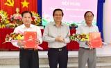 Tỉnh ủy Long An công bố các quyết định về công tác cán bộ tại Tân Hưng