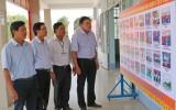 Tân Trụ: Kiểm tra công tác chuẩn bị Đại hội xã Bình Trinh Đông