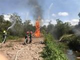 Hậu Giang nâng mức cảnh báo cháy rừng lên cấp cực kỳ nguy hiểm