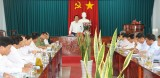 Bí thư Tỉnh ủy Long An – Phạm Văn Rạnh kiểm tra chuẩn bị Đại hội Đảng tại Thủ Thừa