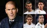 """Real Madrid làm mới đội hình, Zidane muốn """"trảm"""" 5 ngôi sao"""