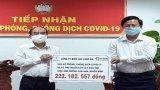Ngành Điện Long An ủng hộ hơn 220 triệu đồng phòng, chống dịch Covid-19 và hạn, mặn