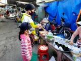 Chợ quê ngày cách ly toàn xã hội