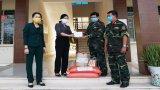 Hội Liên hiệp Phụ nữ Việt Nam tỉnh Long An thăm khu cách ly tập trung phòng, chống Covid-19