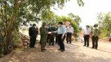Bí thư Tỉnh ủy Long An – Phạm Văn Rạnh kiểm tra công tác phòng, chống dịch Covid-19 tại Đức Huệ
