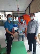 Đồng hành cùng doanh nghiệp và công nhân phòng, chống dịch bệnh Covid-19