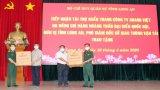 Công ty Khang Việt tặng 10.000 khẩu trang y tế cho Bộ Chỉ huy Quân sự tỉnh Long An