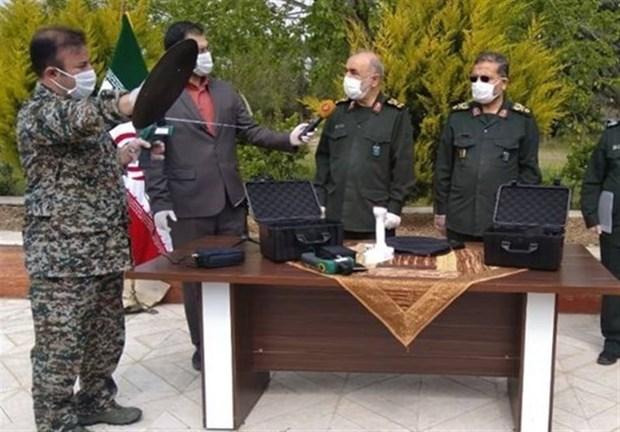Thiết bị thông minh có khả năng phát hiện người nhiễm virus SARS-CoV-2 từ xa của Iran. (Nguồn: tasnimnews.com)
