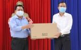 Công ty Cổ phần Tập đoàn đầu tư Sài Gòn tặng 10.000 khẩu trang vải kháng khuẩn
