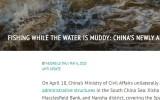 Chuyên gia Australia: Trung Quốc bị suy giảm lòng tin do hành động ở Biển Đông