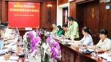 Đoàn kiểm tra liên ngành về An toàn thực phẩm Trung ương làm việc tại Long An