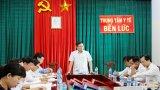 Khảo sát chăm sóc sức khỏe nhân dân và BHYT toàn dân tại Tân Trụ, Bến Lức