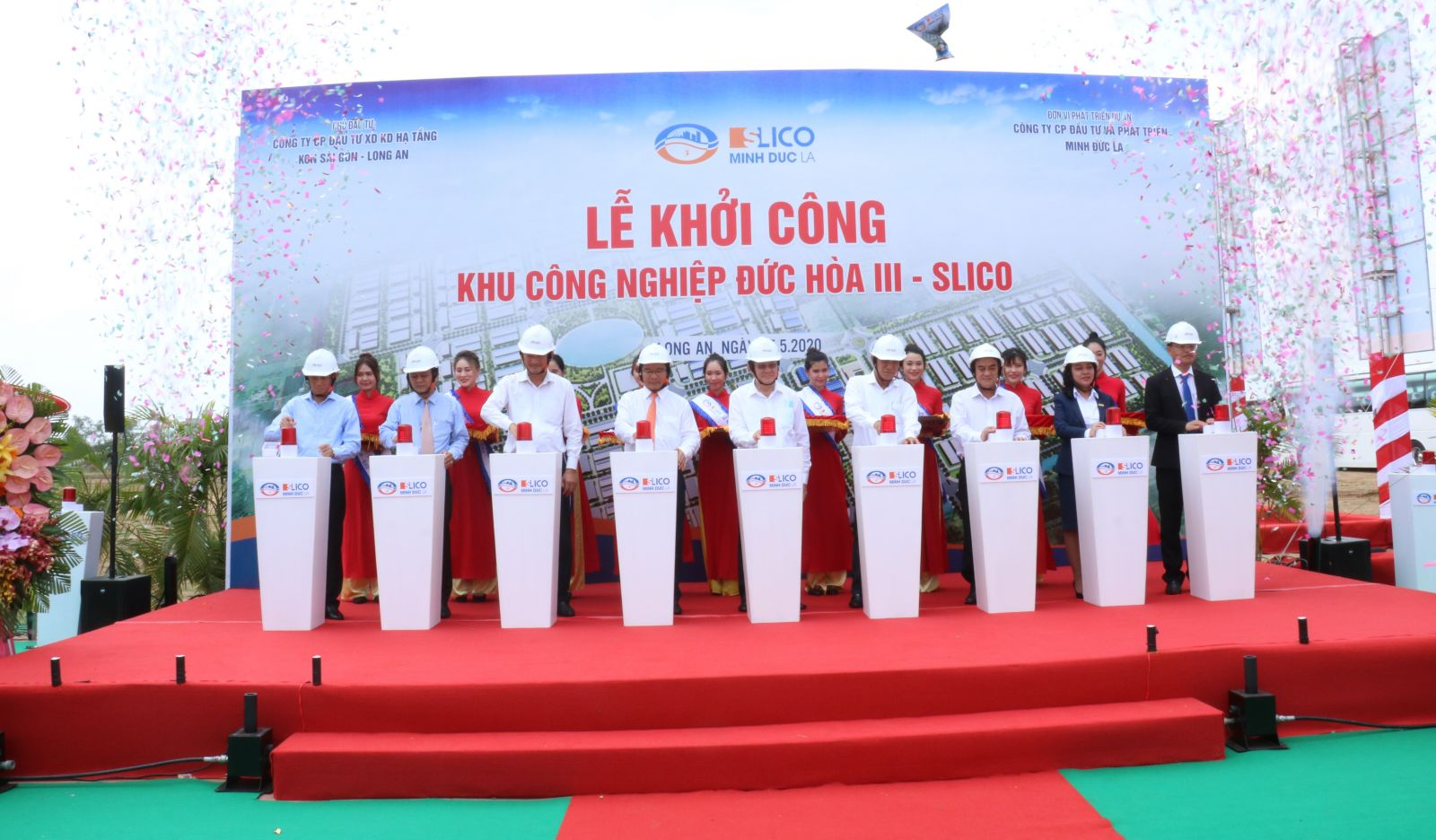 Former State President - Truong Tan Sang expects investors to concentrate resources to soon complete and put the IP into operation
