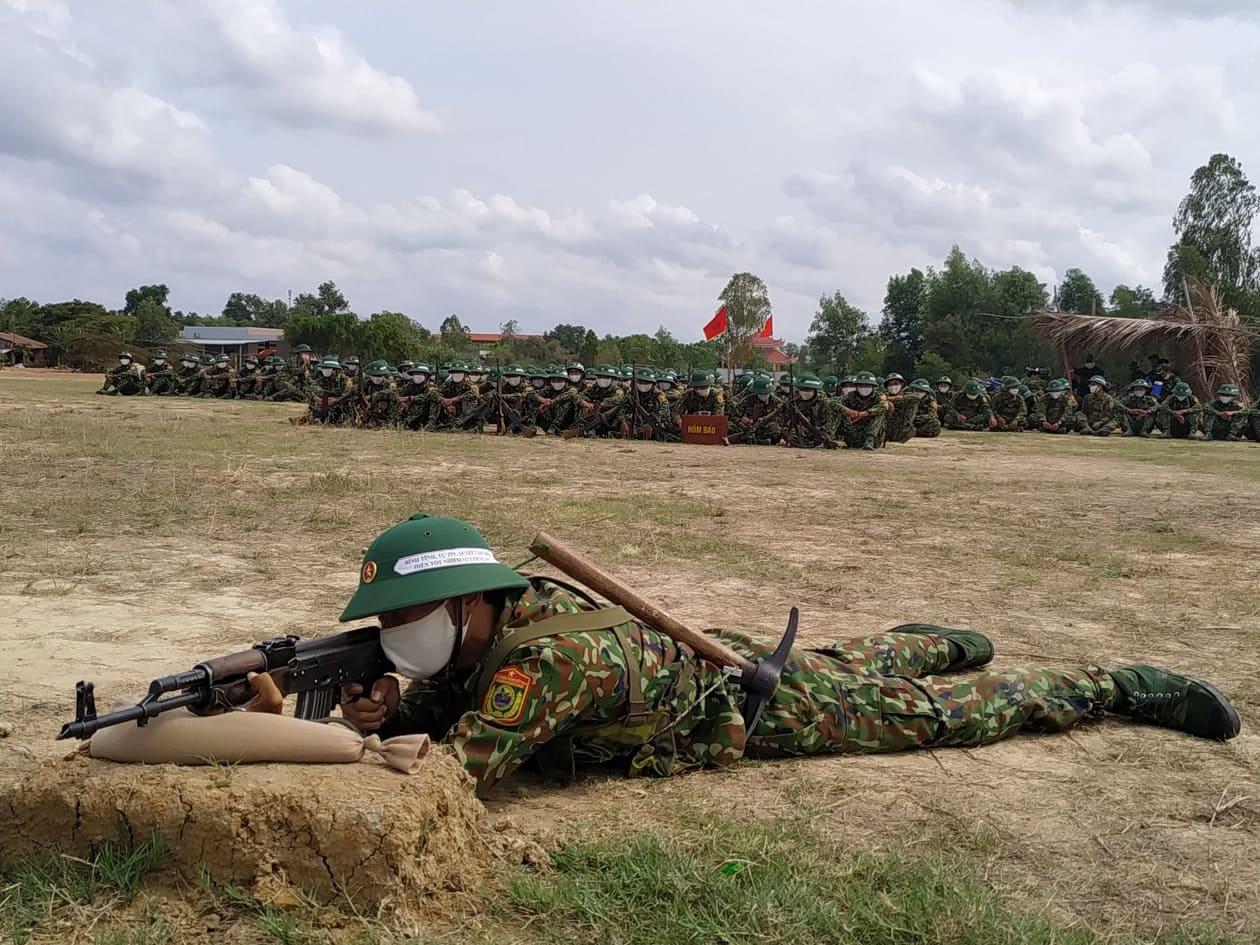 Chiến sĩ mới tích cực học tập, rèn luyện nâng cao trình độ quân sự, nghiệp vụ, đáp ứng yêu cầu nhiệm vụ trong mọi tình huống
