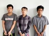 Công an Đức Hòa bắt 3 tên cướp tài sản tại các quán cà phê