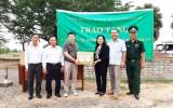 UB.MTTQVN tỉnh Long An hỗ trợ Đại sứ quán Việt Nam tại Campuchia phòng, chống dịch Covid-19