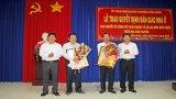 Nguyên Chủ tịch nước - Trương Tấn Sang dự Lễ bàn giao 100 căn nhà tại huyện Cần Đước