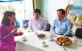 Bí thư Tỉnh ủy Long An - Phạm Văn Rạnh thăm Hợp tác xã Dịch vụ nông nghiệp Mỹ Lệ