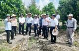Thứ trưởng Bộ Nông nghiệp và Phát triển nông thôn làm việc tại huyện Tân Thạnh