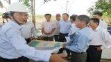 Lãnh đạo tỉnh Long An khảo sát tiến độ xây dựng hạ tầng Khu công nghiệp Hựu Thạnh