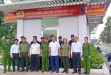 Ra mắt đội dân phòng đảm bảo an ninh, trật tự trong Khu công nghiệp Vĩnh Lộc 2