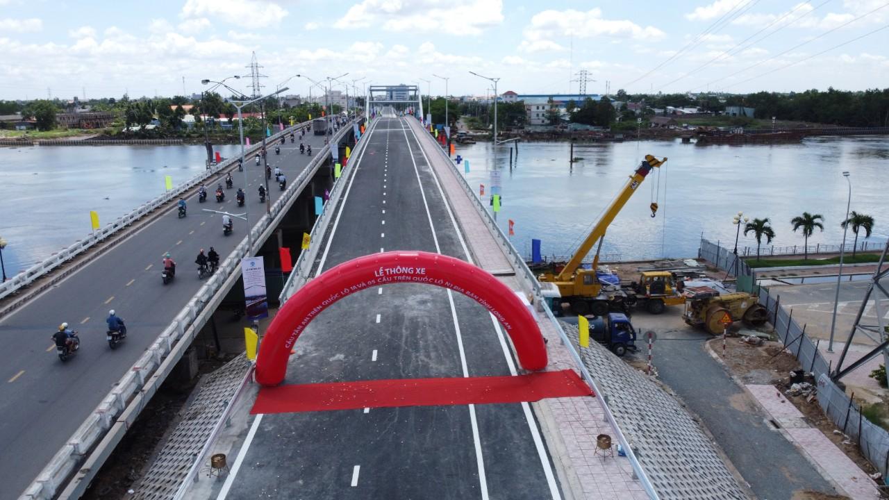 Cầu Tân An chính thức được thông xe từ ngày 7/6