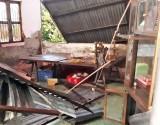 Cần Giuộc: Mưa, lốc xoáy gây tốc mái gần 30 căn nhà tại xã Phước Lại