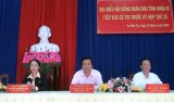 Bí thư Tỉnh ủy, Chủ tịch HĐND tỉnh Long An – Phạm Văn Rạnh tiếp xúc cử tri Đức Hòa