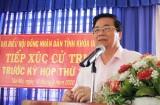 Bí thư Tỉnh ủy, Chủ tịch HĐND tỉnh Long An - Phạm Văn Rạnh tiếp xúc cử tri huyện Đức Hòa