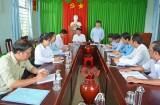 Cần Giuộc: Trung ương Hội Nông dân kiểm tra công tác quản lý vốn vay