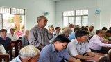 Đại biểu Quốc hội tiếp xúc cử tri huyện Đức Huệ