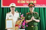Đại tá Lâm Minh Hồng được bổ nhiệm Giám đốc Công an tỉnh Long An