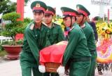 Đón nhận hài cốt liệt sĩ Lê Văn Chẩn về Nghĩa trang Liệt sĩ tỉnh Long An