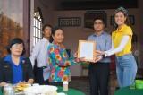 Hoa hậu Hoàn Vũ Khánh Vân đồng hành hỗ trợ sửa nhà tình nghĩa tại Long An