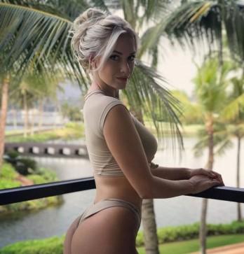 Nữ golf thủ xinh đẹp dũng cảm thừa nhận chuyện gửi ảnh khoả thân