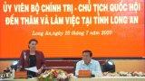 Chủ tịch Quốc hội-Nguyễn Thị Kim Ngân thăm và làm việc tại Long An
