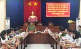 Ban Chỉ đạo 138 Trung ương khảo sát tại huyện Cần Giuộc, Bến Lức