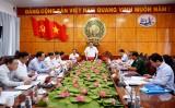 Đóng góp văn kiện, phương án nhân sự Đại hội đại biểu Đảng bộ huyện Tân Trụ