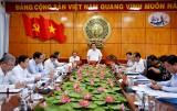 Đóng góp ý kiến thông qua nội dung, nhân sự Đại hội Đại biểu Đảng bộ huyện Thủ Thừa, nhiệm kỳ 2020-2025
