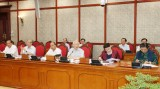 Bộ Chính trị làm việc với Ban Thường vụ Thành ủy Cần Thơ