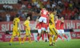 Sài Gòn FC bị Quảng Nam cầm chân, Hải Phòng đánh rơi chiến thắng