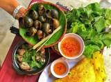 Ốc nướng tiêu và loạt món dân dã ở Cần Thơ
