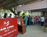 Bến Lức: Lắp đặt thêm 9 'ATM gạo' hỗ trợ người khó khăn