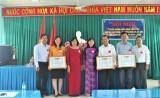 Nhiều tập thể, cá nhân nhận Bằng khen của Bộ trưởng Bộ Lao động - Thương binh và Xã hội