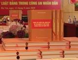 Bộ Công an công bố cuốn sách về kiểm tra, kỷ luật Đảng trong Công an Nhân dân