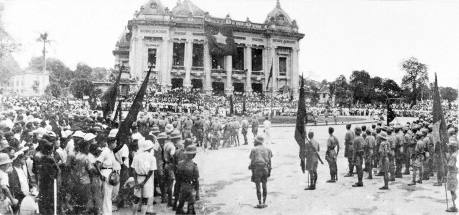 Cách mạng Tháng Tám là sự kiện lịch sử trọng đại, trang sử vàng chói lọi của dân tộc (Ảnh MH: Internet)