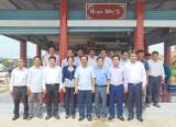 Châu Thành: Phó Bí thư Thường trực Tỉnh ủy Long An thăm, làm việc với Ban Chủ nhiệm các Hội Quán tại An Lục Long